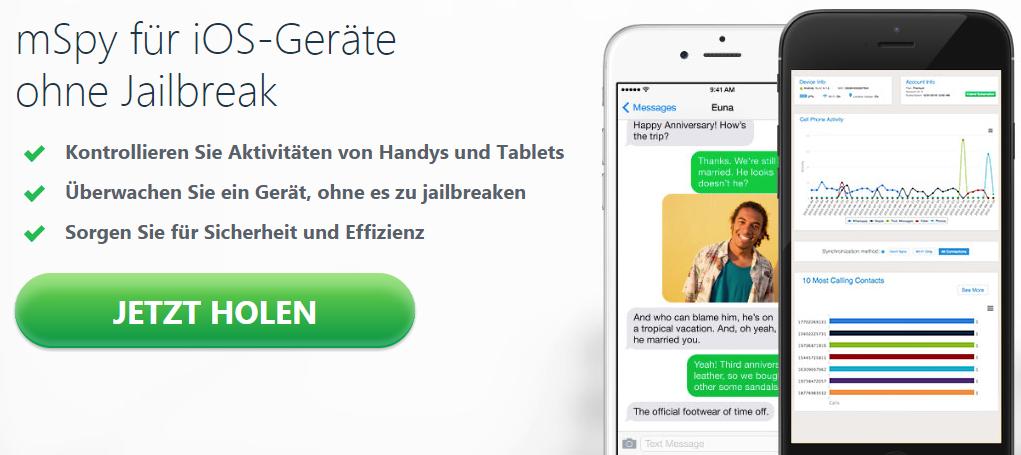 Iphone überwachen jetzt auch ohne Jailbreak möglich!
